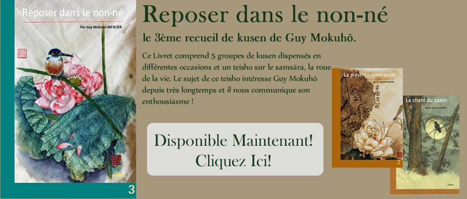 Livrets Kusen de Guy Mokuho