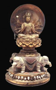 Fugen Bosatsu - Samantabhadra Bodhisattva.