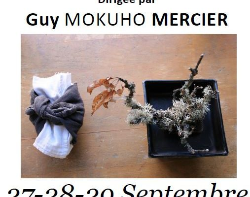 27-29 Septembre – sesshin  – Centre Zen de Lanau