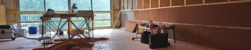 Renovation of the Small Dojo at the Lanau Zen Centre
