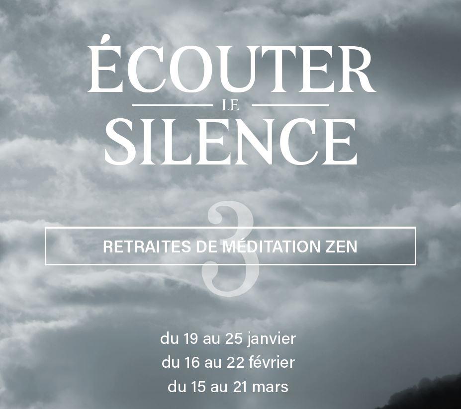 15 au 21 mars – Écouter le Silence – Sesshin – Centre Zen de Lanau