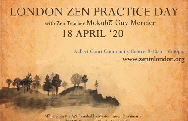 18 Avril – Journée Zazen à Londres (UK)