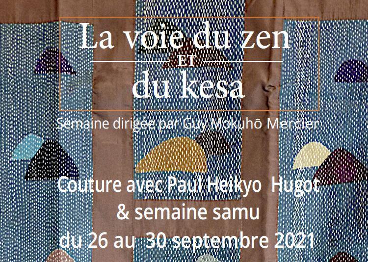 Sewing Week & kesa Funzo-e with Paul Hugot